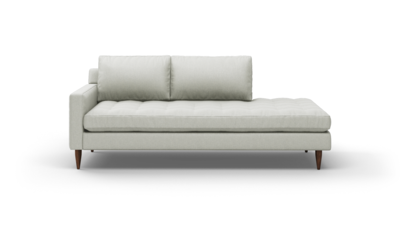 "MCM Sofa With Bumper (85"" Wide, Performance Fabric)"