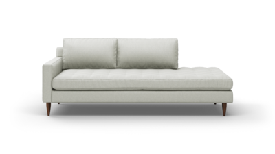 "MCM Sofa With Bumper (90"" Wide, Performance Fabric)"