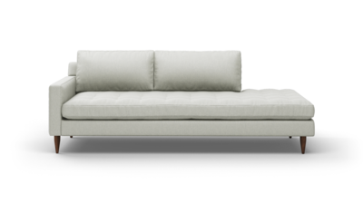 "MCM Sofa With Bumper (95"" Wide, Performance Fabric)"
