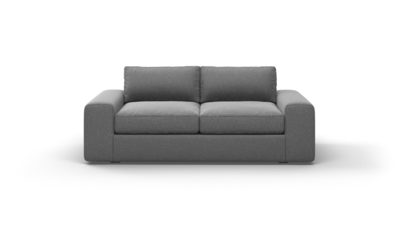"OG Couch Potato Sofa (75"" Wide, Performance Fabric)"