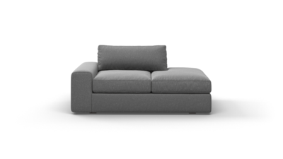 "OG Couch Potato Sofa With Bumper (65"" Wide, Performance Fabric)"