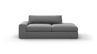 "OG Couch Potato Sofa With Bumper (80"" Wide, Performance Fabric)"