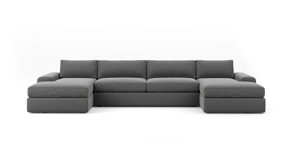 OG Couch Potato Double Chaise Sectional