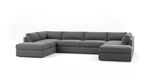 OG Couch Potato U-Shaped Bumper Sectional