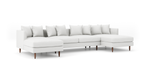 OG Crowd Pleaser Double Chaise Sectional