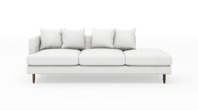 "OG Crowd Pleaser Sofa With Bumper (95"" Wide, Decide Later)"