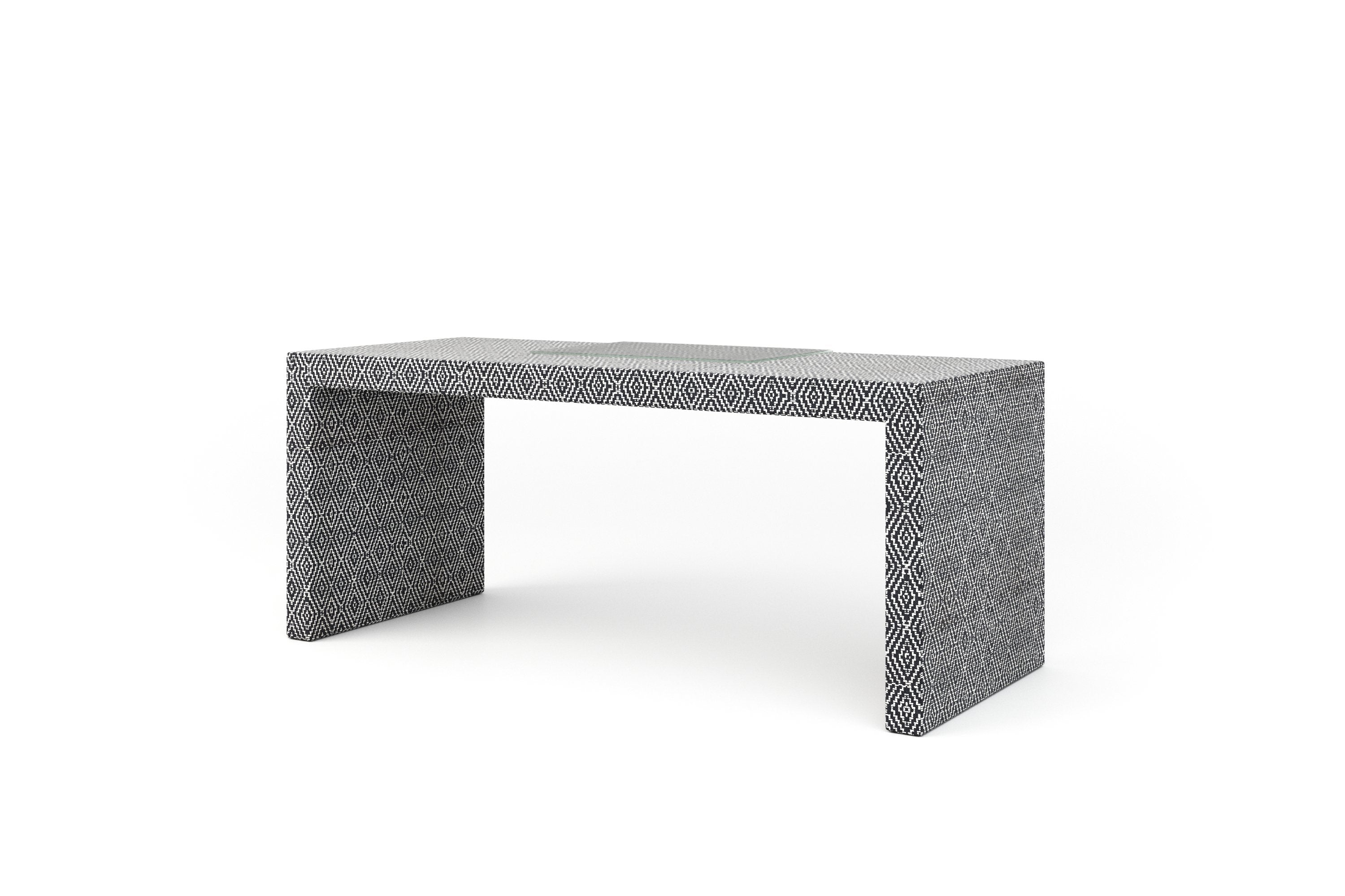 Purcell Desk (No Drawer, 72, 26, Performance Fabric)