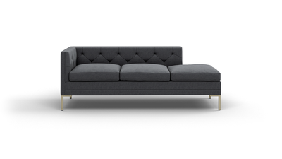 "Sit Tight Sofa With Bumper (80"" Wide, Decide Later)"