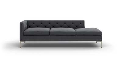 "Sit Tight Sofa With Bumper (95"" Wide, Decide Later)"