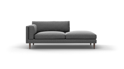 "Skinny Fat Sofa With Bumper (75"" Wide, Standard Depth, Decide Later)"