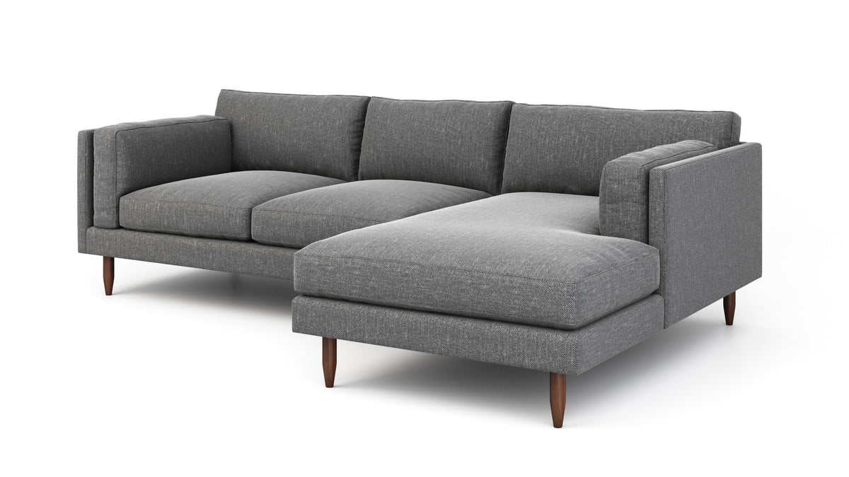 Skinny Fat Sofa With Chaise Modern Chaise Sofas Benchmade Modern