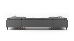 Skinny Fat U-Shaped Sectional
