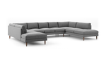 Skinny Fat U-Shaped Bumper Sectional