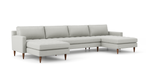 MCM Double Chaise Sectional
