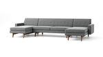 Tyler Double Chaise Sectional