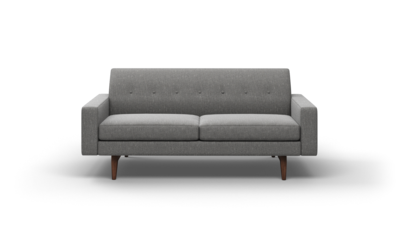 "Tyler Sofa (75"" Wide, Velvet Fabric)"