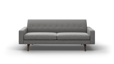 "Tyler Sofa (85"" Wide, Leather Fabric)"