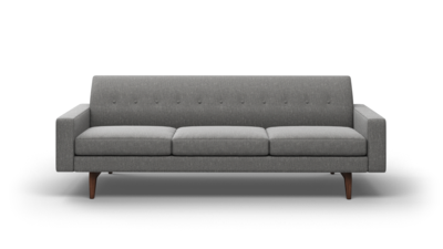 "Tyler Sofa (95"" Wide, Leather Fabric)"