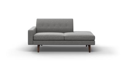 "Tyler Sofa With Bumper (70"" Wide, Leather Fabric)"