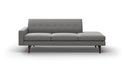 "Tyler Sofa With Bumper (90"" Wide, Performance Fabric)"