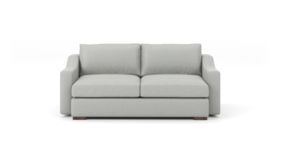 "Uncle Sal Sofa (75"" Wide, Velvet Fabric)"