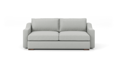 "Uncle Sal Sofa (80"" Wide, Leather Fabric)"