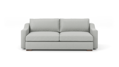 "Uncle Sal Sofa (85"" Wide, Leather Fabric)"