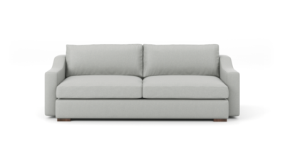 "Uncle Sal Sofa (90"" Wide, Velvet Fabric)"