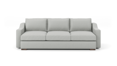 "Uncle Sal Sofa (95"" Wide, Leather Fabric)"