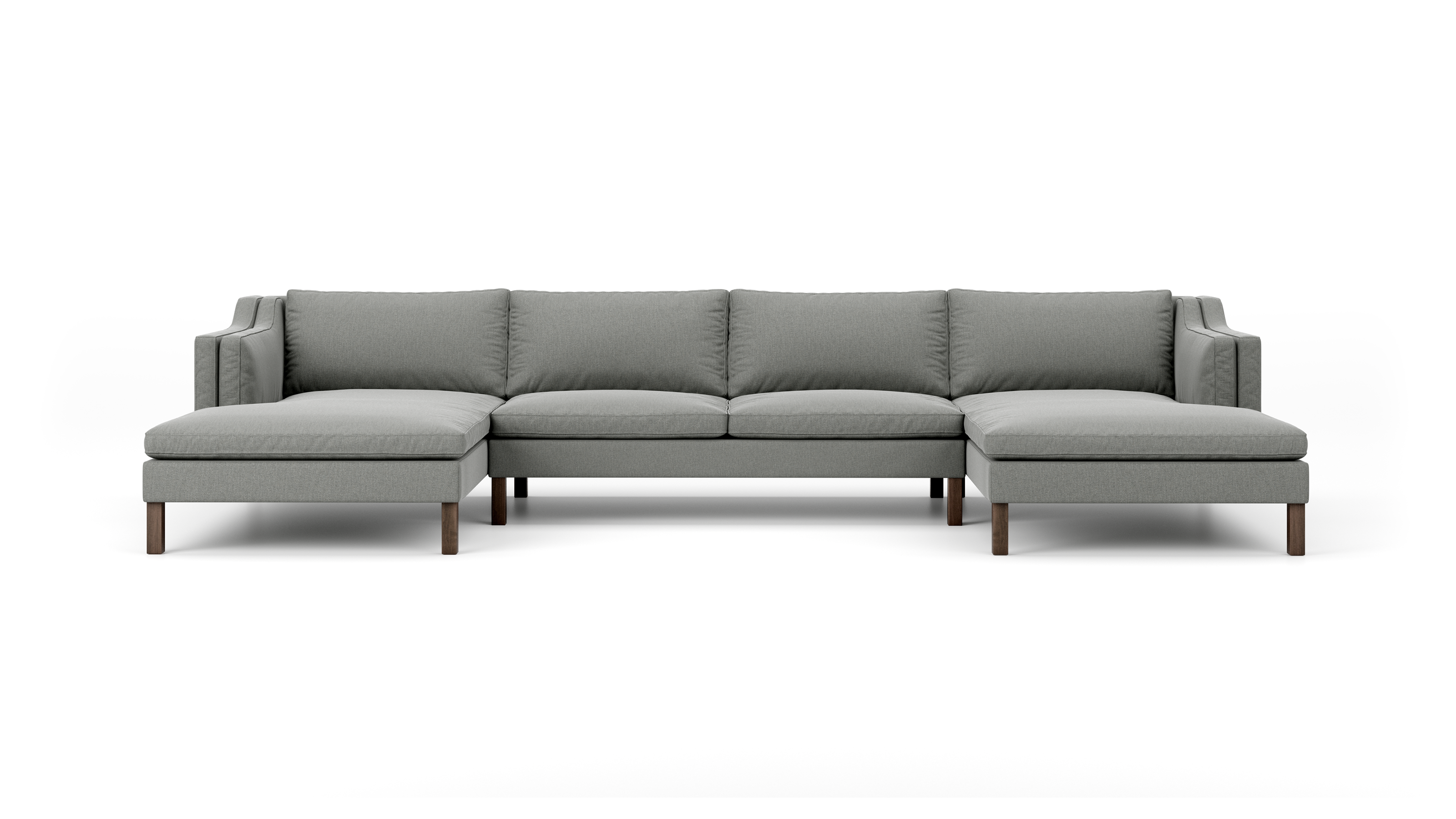 Up-Town Double Chaise Sectional