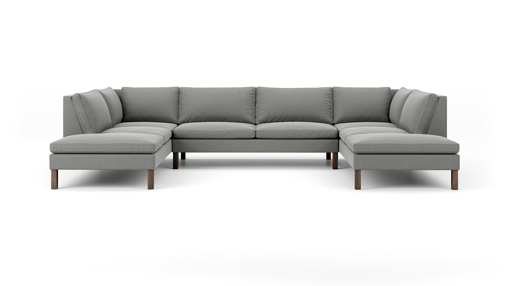 Up-Town U-Shaped Bumper Sectional