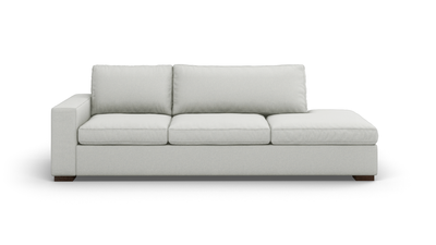 "Couch Potato Sofa With Bumper (100"" Wide, Extra Depth, Performance Fabric)"