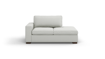 "Couch Potato Sofa With Bumper (65"" Wide, Extra Depth, Decide Later)"