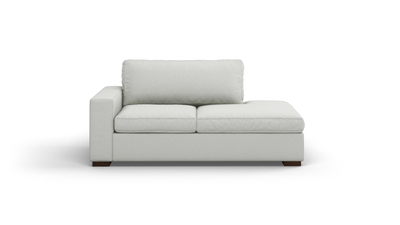 "Couch Potato Sofa With Bumper (70"" Wide, Extra Depth, Performance Fabric)"