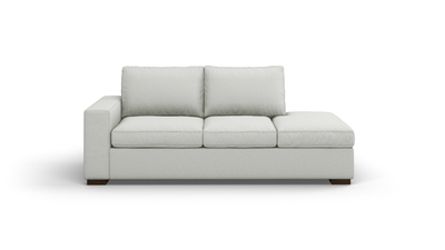 "Couch Potato Sofa With Bumper (80"" Wide, Extra Depth, Decide Later)"