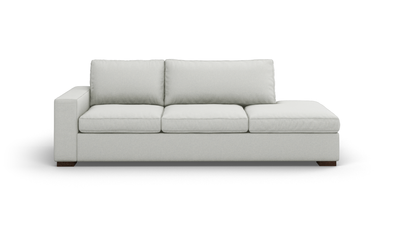 "Couch Potato Sofa With Bumper (95"" Wide, Standard Depth, Performance Fabric)"