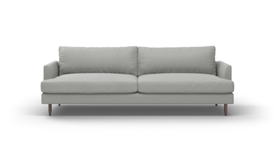 "Crowd Pleaser Sofa (100"" Wide, Leather Fabric)"