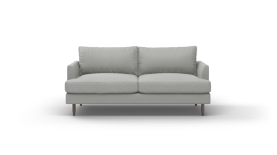 "Crowd Pleaser Sofa (75"" Wide, Velvet Fabric)"