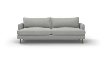 "Crowd Pleaser Sofa (95"" Wide, Velvet Fabric)"