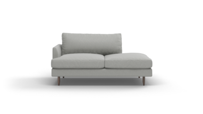 "Crowd Pleaser Sofa With Bumper (70"" Wide, Performance Fabric)"