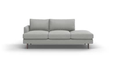 "Crowd Pleaser Sofa With Bumper (85"" Wide, Performance Fabric)"
