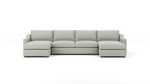 Uncle Sal Double Chaise Sectional