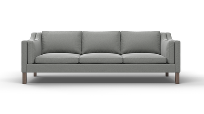 "Up-Town Sofa (100"" Wide, Leather Fabric)"