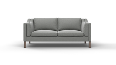 "Up-Town Sofa (75"" Wide, Velvet Fabric)"
