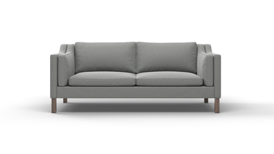 "Up-Town Sofa (80"" Wide, Leather Fabric)"