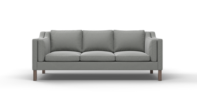 "Up-Town Sofa (85"" Wide, Leather Fabric)"
