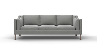"Up-Town Sofa (90"" Wide, Leather Fabric)"