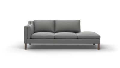 "Up-Town Sofa With Bumper (90"" Wide, Decide Later)"