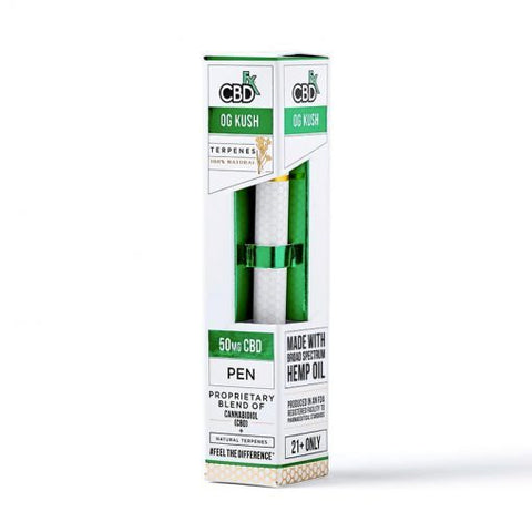 CBDfx OGクッシュ  CBD Terpenes Vape Pen – 50mg