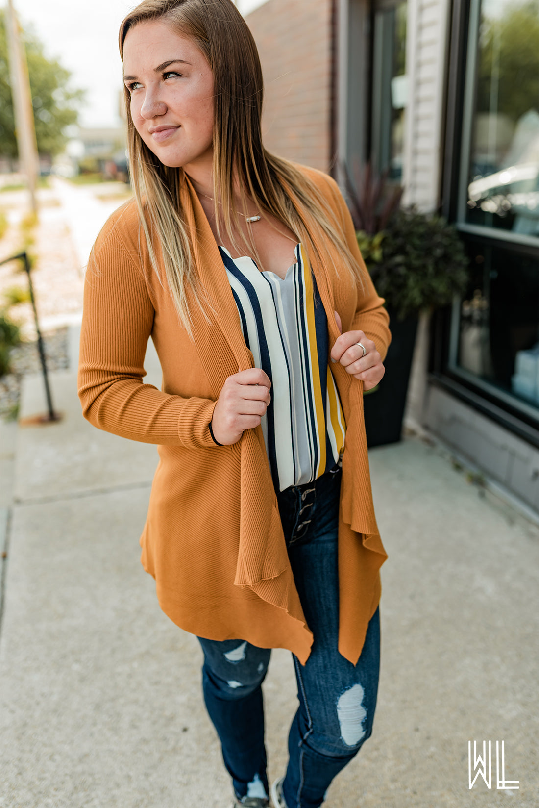 The Softest Draped Cardigan